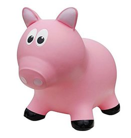 Next Generation Distributors Farm Hoppers Pink Pig