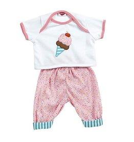Adora Dolls Adora Nursery Time Baby Doll Ice Cream Ensemble Outfit