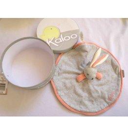 Jura Toys Kaloo Zen Grey Round Rabbit Doudou
