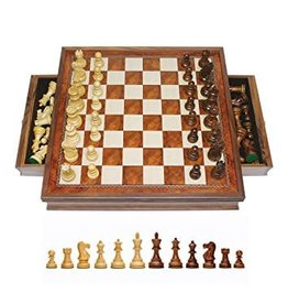 John Hansen Chess Board with Storage Drawers