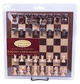 John Hansen Wood Chess Set Blister Pack