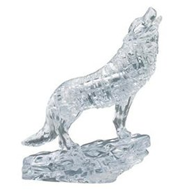 University Games Original 3D Crystal Wolf Clear Puzzle