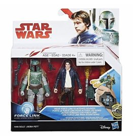 R and M Star Wars E8 Force Link Han Solo And Boba Feit