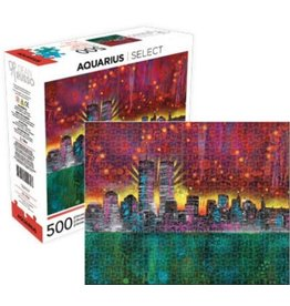 NMR Dean Russo Twin Towers 500 Piece Puzzle