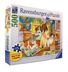 Ravensburger Ravensburger Pets on Tour 500 Piece Large Format Puzzle