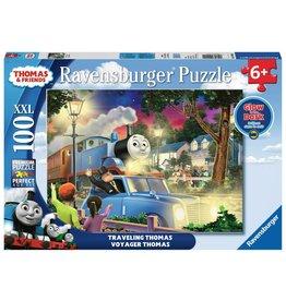 Ravensburger Ravensburger Travelling Thomas 100 Piece Glow in the Dark Puzzle