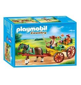 Playmobil Playmobil Horse-Drawn Wagon