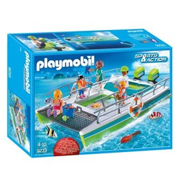 Playmobil Playmobil Glass-Bottom Boat with Underwater Motor