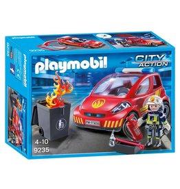 Playmobil Playmobil Firefighter with Car