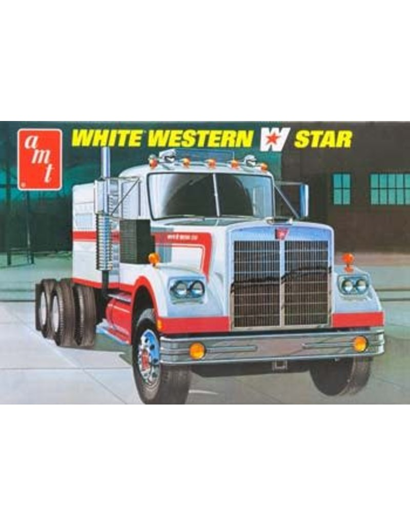 Great Planes Model Distributors AMT  1 25 White Western Star