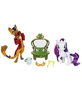 R and M MLP Friendship Pack Rarity and Capper Dapperpaws