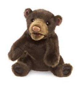 Folkmanis Puppets Folkmanis Small Black Bear Puppet