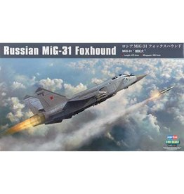 Great Planes Model Distributors Hobby Boss 1 48 Russian MIG 31 Foxhound