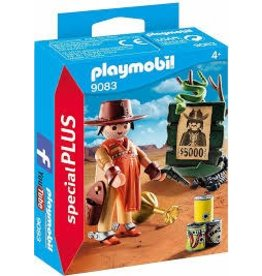 Playmobil Playmobil Cowboy with Wanted Poster