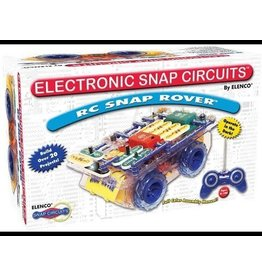 Elenco Snap Circuits Deluxe RC Snap Rover Electronics Discovery Kit
