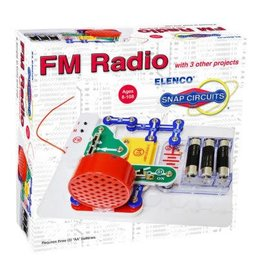 Elenco Snap Circuits FM Radio Kit