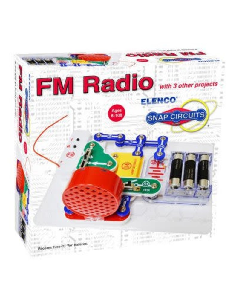 Elenco Snap Circuits Kit Geek Tattoos Pro 500in1 Experiments Click To Enlarge Fm Radio