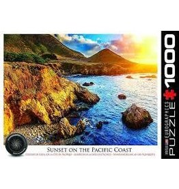 Eurographics EuroGraphics 1000 Piece Puzzle Sunset On The Pacific Coast