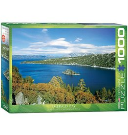 Eurographics Emerald 1000 Piece Puzzle Emerald Bay Lake Tahoe