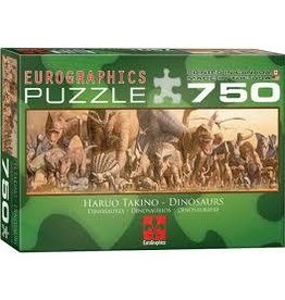 Eurographics EuroGraphics  750 Piece Puzzle Dinosaurs Jigsaw