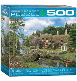 Eurographics EuroGraphics 500 Piece Puzzle Cobble Walk Cottage Puzz 500