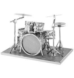 Fascinations Fascinations Metal Earth 3D Metal Model Kit Drum Set