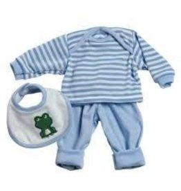 Adora Adora 13 Inch Baby Doll Accessories 3 Piece Blue Layette