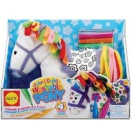 Alex Toys Brand LLC Alex Toys Color and Cuddle Pony