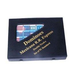 John Hansen Dominoes Color Dot Double 12