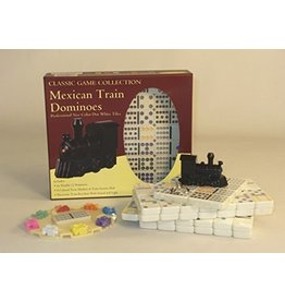 John Hansen Classic Mexican Train Dominoes