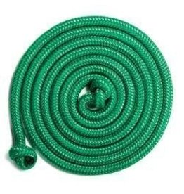 BOM Just Jump It 8 Foot Jump Rope Green Solid
