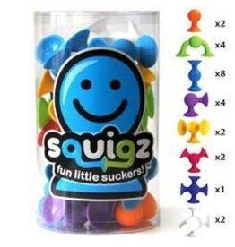 Fat Brain Fat Brain Toys Squigz Starter Set Suction Cup Building Kit