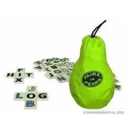 Bananagrams Pairs in Pears Game