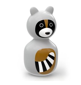 Kid O Wobbly Toy Raccoon
