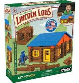 Knex Lincoln Logs Oak Creek Lodge 137 Pc