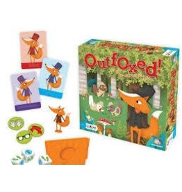 Gamewright Ceaco Brainwright Outfoxed Family Game by Gamewright