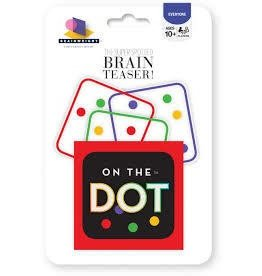 Gamewright Ceaco Brainwright On the Dot Brain Teaser Game