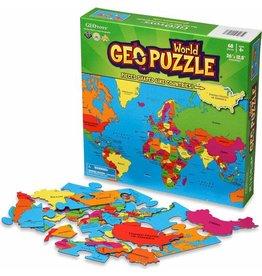 Geo Toys Geo Puzzle World