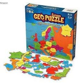Geo Toys Geo Puzzle Europe