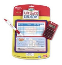 Learning Resources Learning Resources Pretend and Play Calculator Checkbook