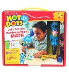 Educational Insights Eduactional Insights Hot Dots Jr  Lets Master Kindergarten Math