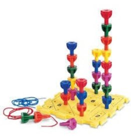 Learning Resources Learning Resources Rainbow Peg Play Activity Set