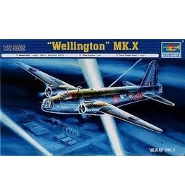 Grant and Bowman Trumpeter Wellington MkX Plastic Model Kit