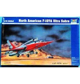 Grant and Bowman Trumpeter F 107A Ultra Sabre Jet 1 72 Plastic Model Kit