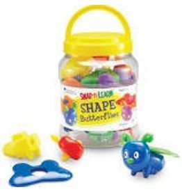 Learning Resources Learning Resources Snap n Learn Shape Butterflies