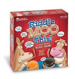 Learning Resources Riddle Moo This Game