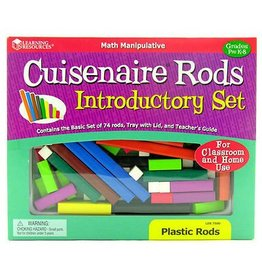 Learning Resources Learning Resources Cuisenaire Rods Introductory Set Plastic
