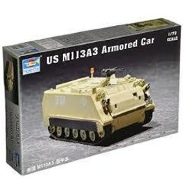 Grant and Bowman Trumpeter 1 72 US M113A3 Armored Personnel Carrier Plastic Model Kit