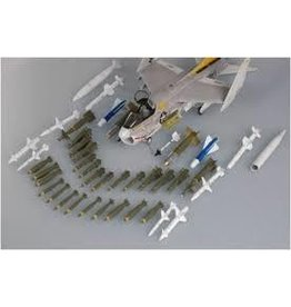 Grant and Bowman Trumpeter 1 32 US Modern Aircraft Weapons Set Plastic Model Kit