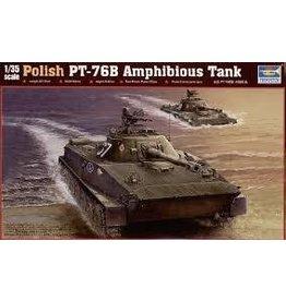 Grant and Bowman Trumpeter PT 76B Amphibious Tank Plastic Model Kit